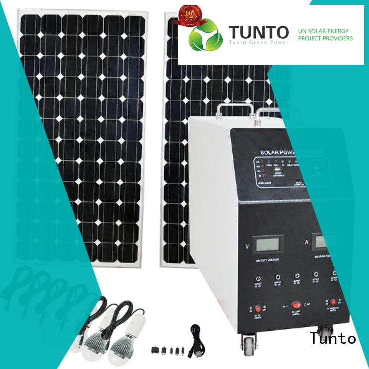Tunto 500w hybrid solar inverter series for street