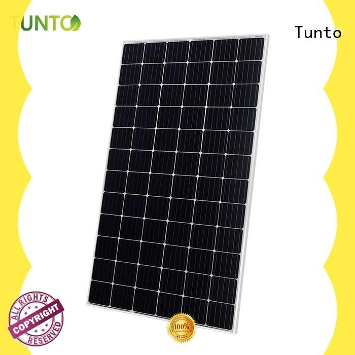 Tunto monocrystalline solar panel factory price for solar plant