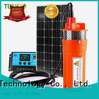 stable solar powered pump customized for pondaeration
