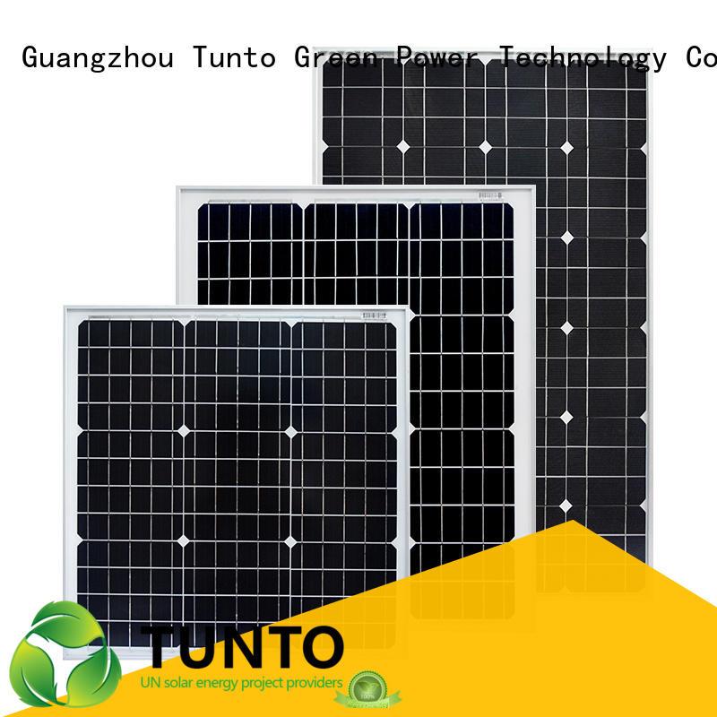 Tunto monocrystalline solar panel personalized for farm