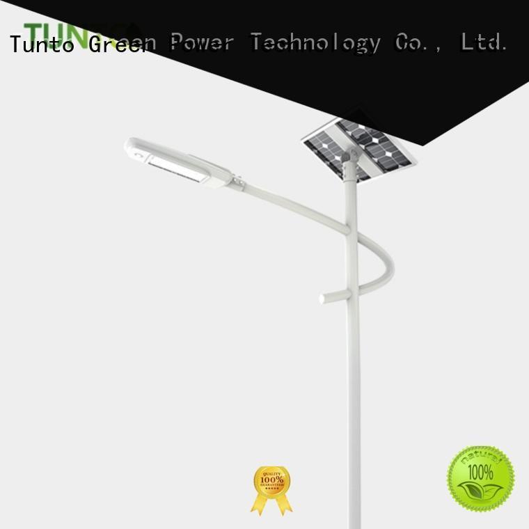 Tunto solar tree lights outdoor supplier for road