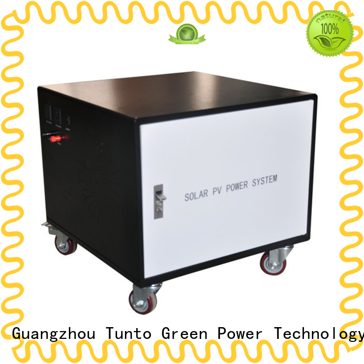 Tunto 5kw solar panel inverter cost for plaza