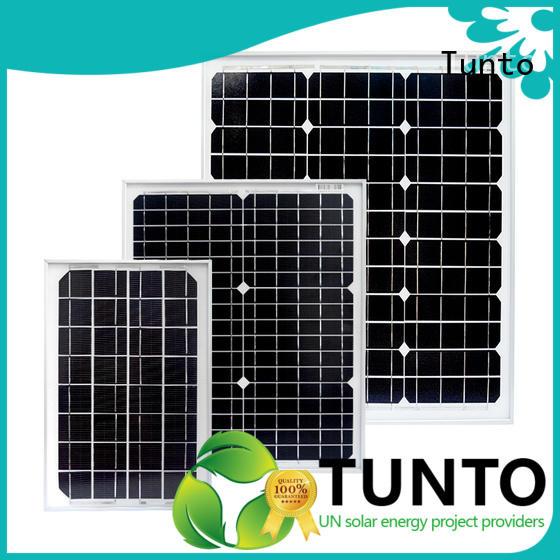 Tunto polycrystalline polycrystalline solar panel for solar plant