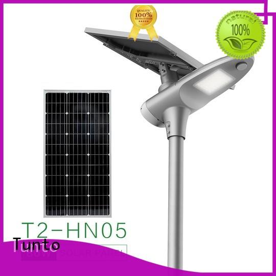Tunto 30w solar street light price list factory price for road