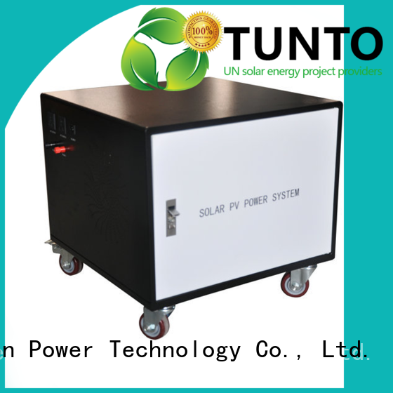 mini application portable generator Tunto Brand polycrystalline solar panel supplier