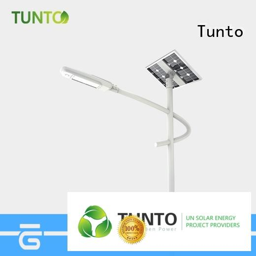 Tunto portable solar power generator manufacturer for outdoor
