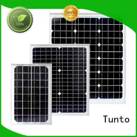 Tunto polycrystalline monocrystalline solar panel personalized for street lamp