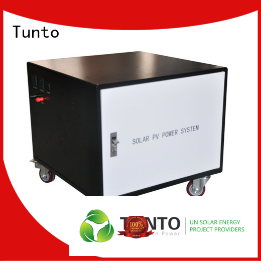 Tunto hybrid solar inverter from China for outdoor