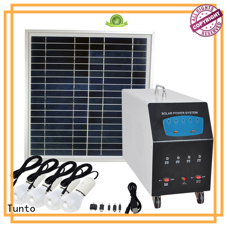 Tunto stable solar panel inverter cost 10w for road