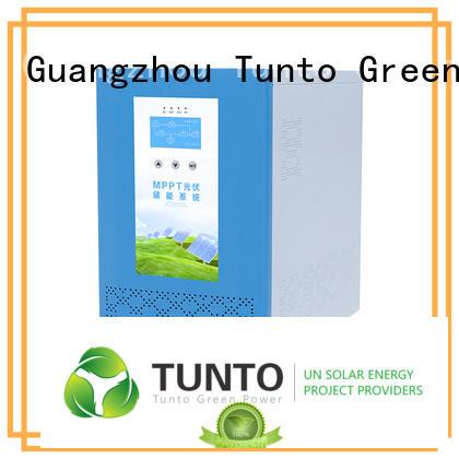 Tunto carborne off grid solar inverter for lights