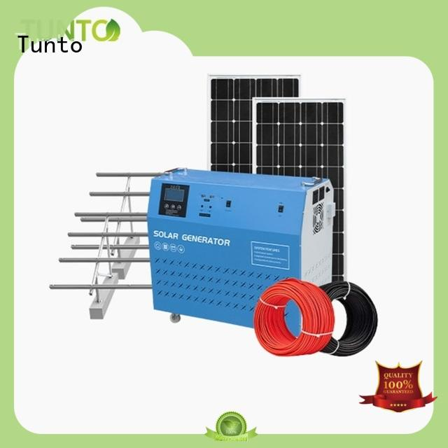 Tunto off grid power systems from China for road
