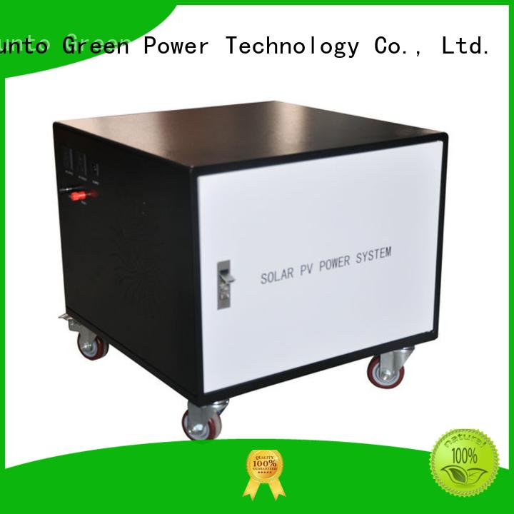Tunto 3kw solar generator kit series for street
