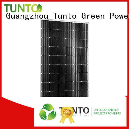 crystalline poly discount solar panels Tunto manufacture