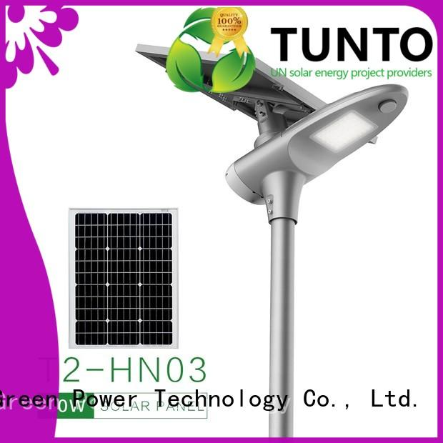 solar powered led street lights for road Tunto