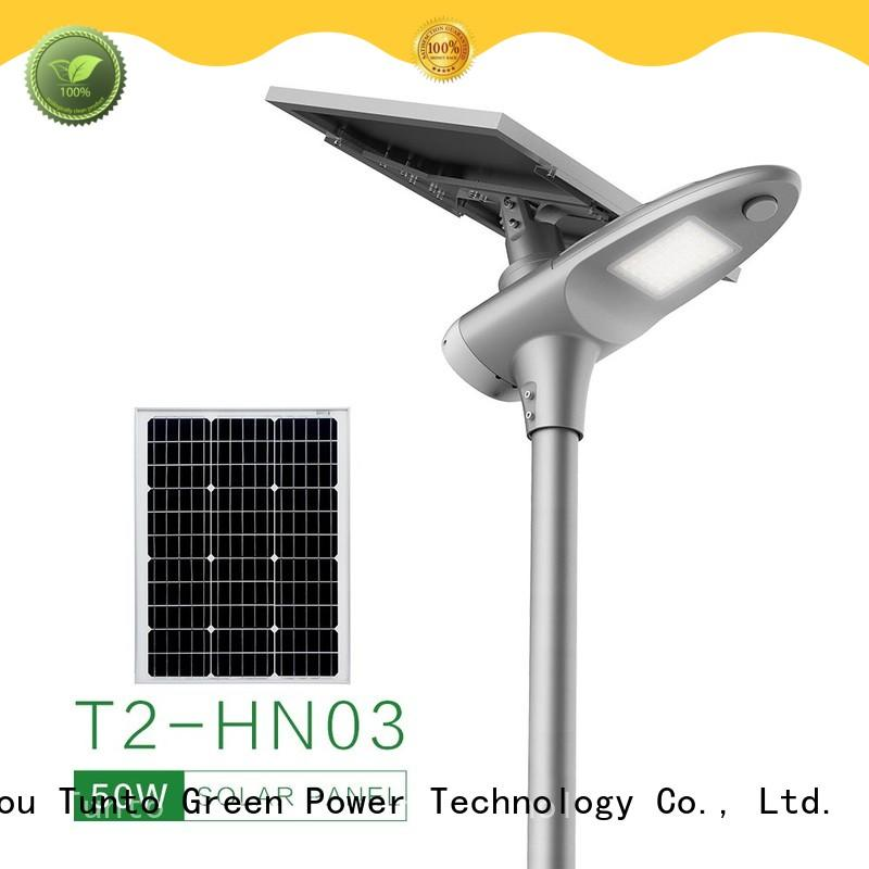 Tunto best solar powered outdoor lights personalized for parking lot