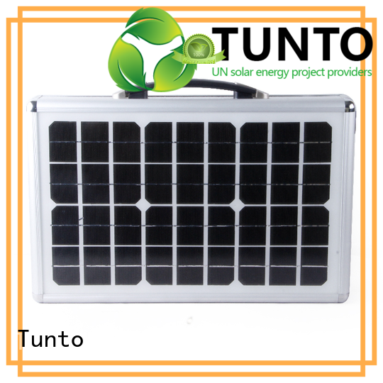 Tunto off grid solar kits directly sale for outdoor