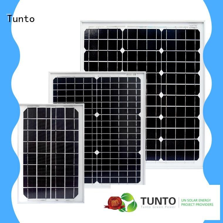 Tunto polycrystalline solar panel factory price for solar plant