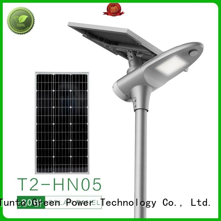 solar powered street lights personalized for outdoor Tunto