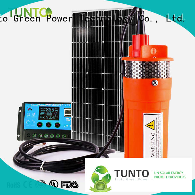 Tunto solar pumping system directly sale for irrigation