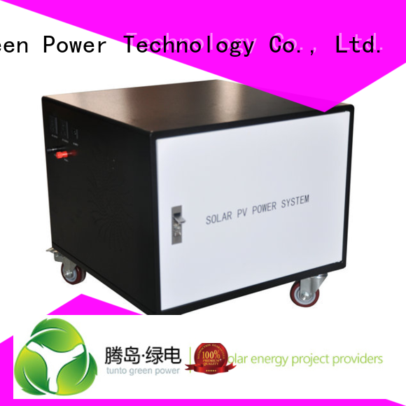 solar generator polycrystalline solar panel portable Tunto company