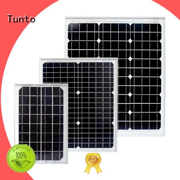 Tunto monocrystalline solar panel supplier for farm