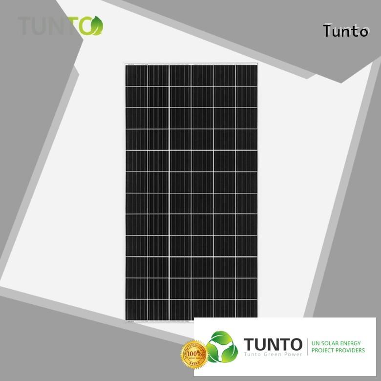 Tunto 80w off grid solar panel kits wholesale for farm