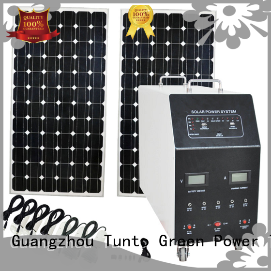Tunto portable off grid solar inverter manufacturer for road
