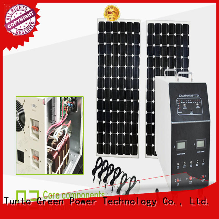 Tunto 600w off grid power systems customized for outdoor