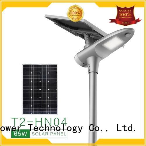 Tunto 60w solar powered street lights wholesale for plaza
