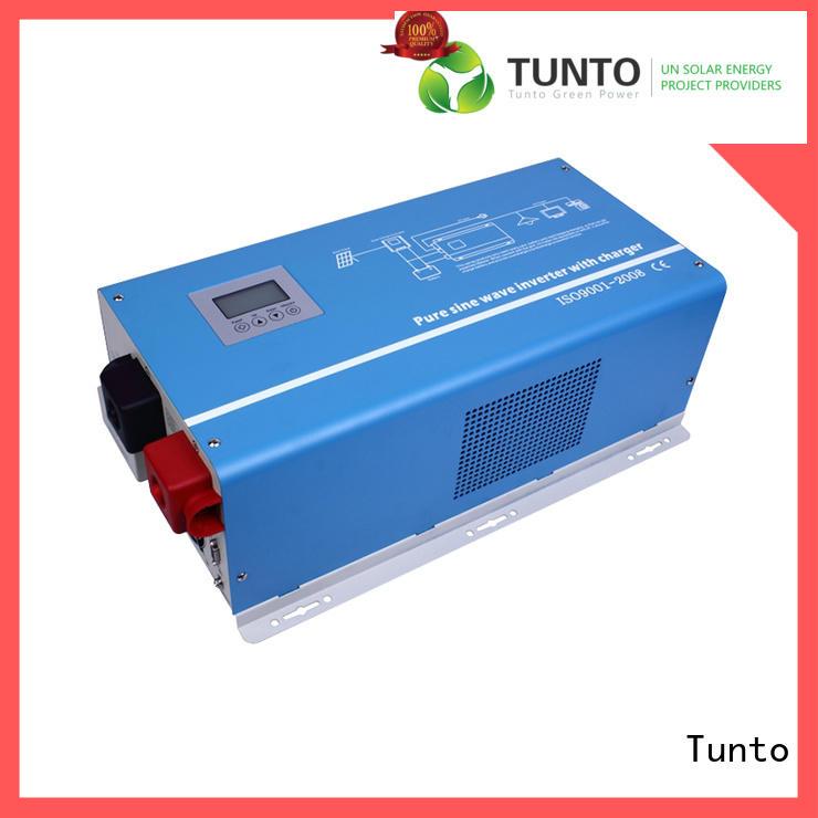 Tunto hybrid solar inverter factory price for lights
