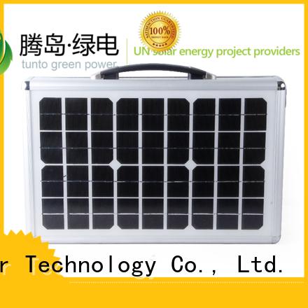 led street light solar system home generator solar Warranty Tunto