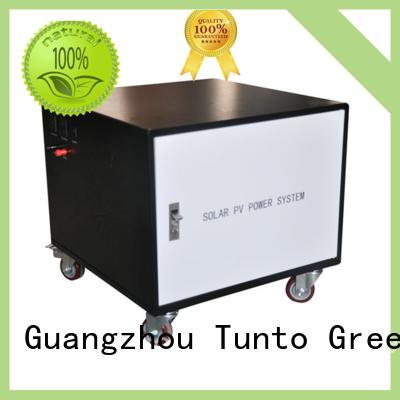 mini off grid solar power systems customized for street