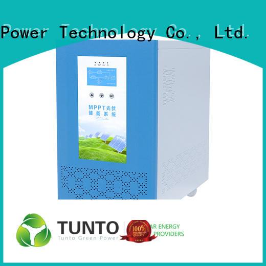 Tunto off grid solar inverter wholesale for street lights