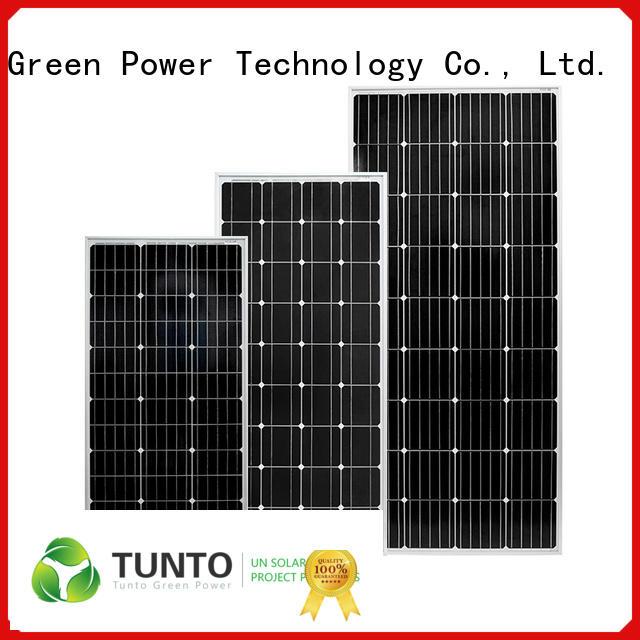 Tunto 100w off grid solar panel kits supplier for street lamp