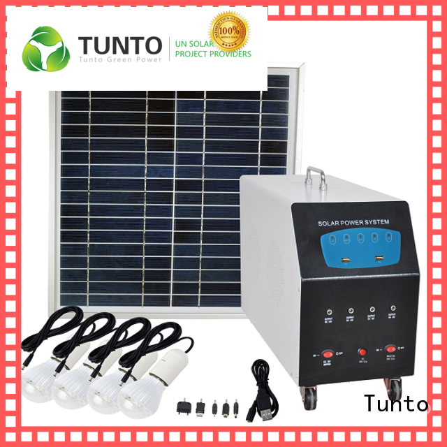 3kw off grid power systems series for street