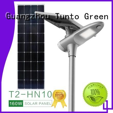 solar street light manufacturer factory price for road Tunto