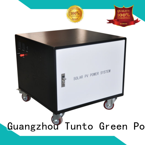 Tunto durable polycrystalline solar panel customized for street