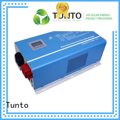 Tunto onboard best solar inverters supplier for lights