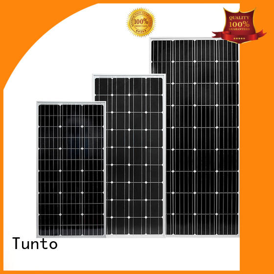 Tunto off grid solar panel kits supplier for solar plant