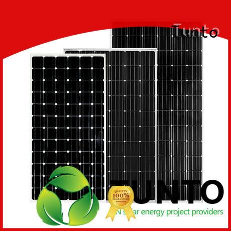 Tunto monocrystalline solar panel personalized for street lamp
