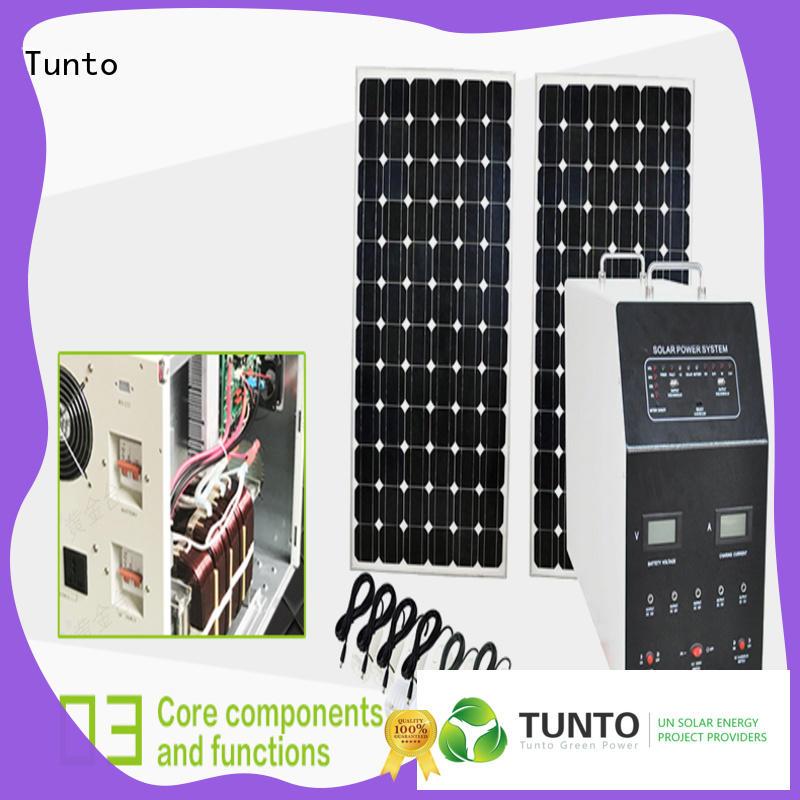 solar power backup generator for outdoor Tunto