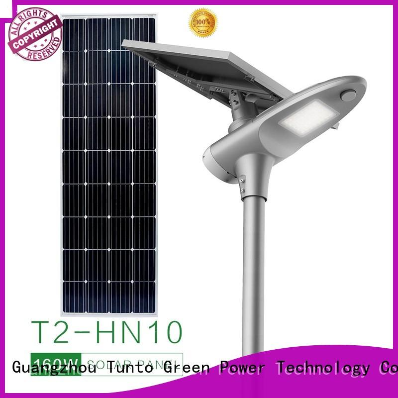 Tunto all in one solar street light supplier for road