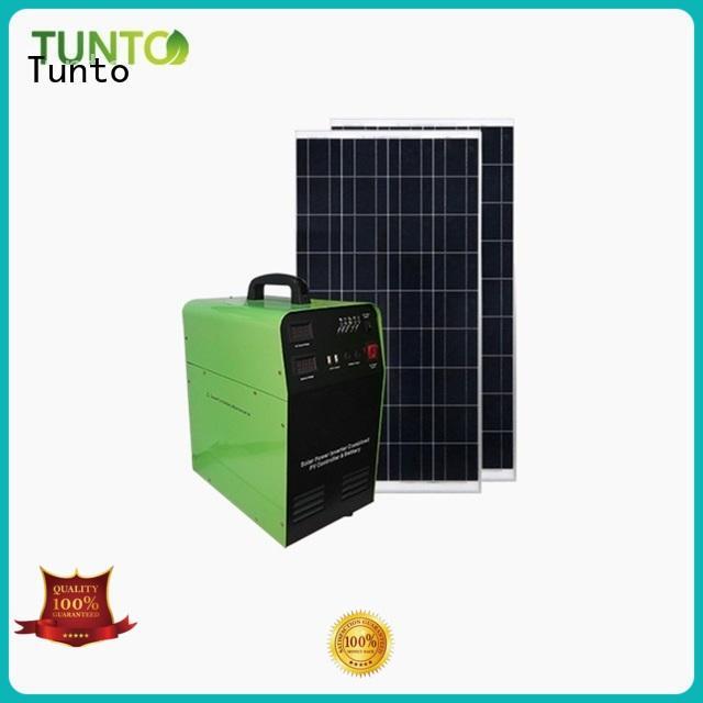 Tunto hybrid solar inverter customized for road