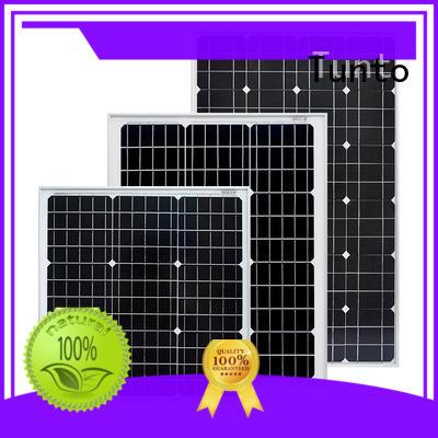 Tunto monocrystalline solar panel personalized for household
