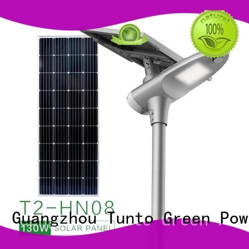 lighting solar powered street lights cost 50w for road Tunto