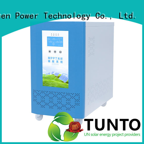 Tunto hybrid solar inverter wholesale for lights