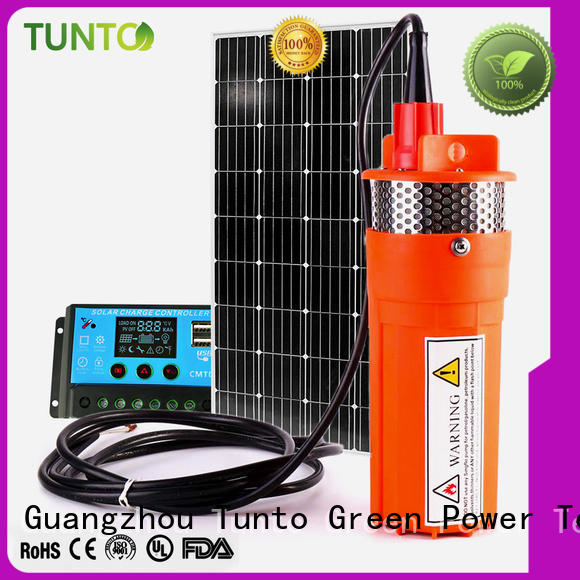 Tunto solar pumping system directly sale for garden