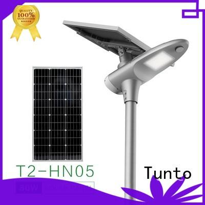 Tunto solar street light manufacturer wholesale for outdoor