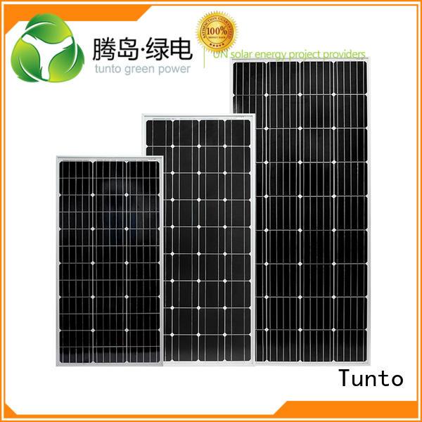 solar crystalline polycrystalline solar panel Tunto Brand