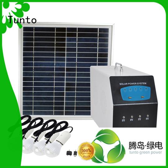 home portable solar led street light solar system Tunto Brand